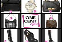 DESIGNER BOOTS, BAGS and Fabulous Coach Watch - AUCTION EVERY NIGHT AT 9:30 PM ET / OneCentChic offers the latest designer fashions for below retail Register Buy Bids  and WIN