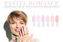 Nowa Kolekcja Lakierów Hybrydowych NeoNail Pastel Romance / Wiosenne Pastelowe Lakiery Hybrydowe