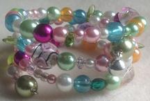 Silva925 / Beautiful beads on memory wire handmade for £12.50