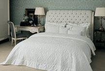 white bedlinen