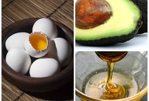 Egg Hair masks / Protein enriched egg hair masks for strong, shiny and healthy hair