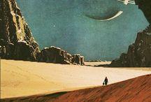 Retro Space Posters
