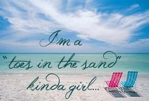 Toes in the Sand / I love a beach vacation!
