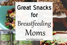 BREASTFEEDING MUMS QUICK SNACKS & FAST FAMILY MEALS