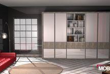 Armarios de puertas batientes / Os enseñamos los últimos diseños que hemos realizado de #armarios con puertas batientes.