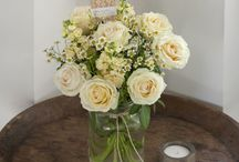 Jam jars and wine bottles, corks and wine box ideas for weddings.