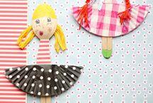 gyerek kézműves vegyes - kids crafts