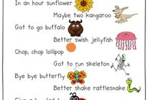 Childs rhymes
