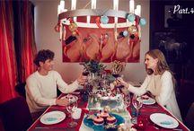 リトアニアから発信!モダンな大人のクリスマス / J'aDoRe JUN ONLINEは2015年のクリスマスビジュアルをリトアニアで撮影。人気のインテリアデザイナー、インドラ・マルシンケビシエネさんが作り出す世界観に注目!