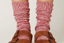 Sandals and socks