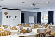 Athens Business Meetings & Conferences / The Civitel Olympic, the Civitel Attik and the brand New Civitel Esprit, feature modern and comfortable business conference spaces. http://goo.gl/NESm3U