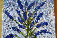 Mosaico Smalti / Smalti veneciano y otros materiales
