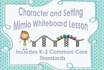 Teaching: Mimio lessons