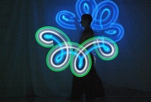 Favorite Poi Spinners / There are so many incredible flow artists out there. Let's give props to some of our top poi spinners in our ever-growing loving community! / by Vixie's Prop Shop