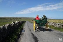 Aran Islands of Ireland / Officially a part of County Galway, but a place all their own. Ireland vacation | Ireland travel tips