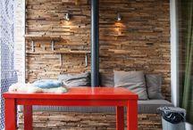 Wonderwall / Een super gave wandbekleding die ook voor de bekleding van o.a. toonbanken, kasten en andere meubelen kan worden gebruikt.