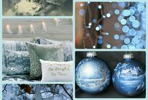 Collages van kerst, winter en alg. foto's