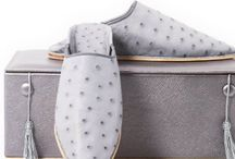 Prestigious Slippers / Find out your unique, high quality and prestigious slippers. Handmade and fashionable slippers made by ostrich and shagreen leather <3