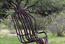 stromy / inspirace pro tvarování stromu