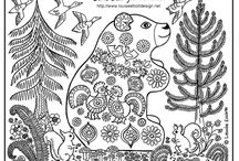 Coloring pages / by Sylvia Hammond