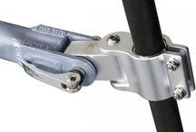 Bike trailer hitch / Форкоп для велоприцепа