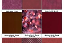 2015 Color Plates / Follow 2015 's Color trend with my collection for Stof Fabrics and Stof Basic Collections Combination.