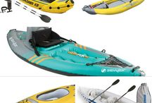 inflateable  kayak