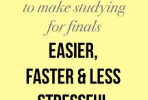Study Tips and Inspiration / Your saving grace for all things study!