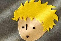 Little Prince  / Little Prince Felt ipad Case/ Küçük Prens Keçe Tablet Kılıfı