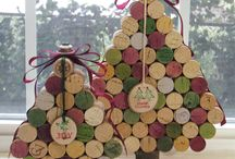 Wine inspired Christmas gifts & decoration