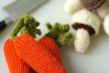Knitted Objects for play  / by Amelia Gregory