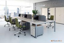 Meble pracownicze / Ciekawe meble pracownicze. Cześć prezentowanych tu mebli biurowych znajduje się w ofercie Office Deco http://mebledobiura.biz