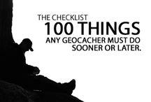 Geocaching / Finde skatte i naturen, lagt af andre geocachere.