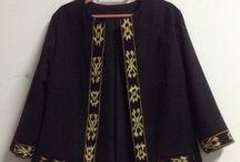blazer and batik