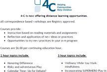 4-C Correspondence Courses / by 4-C