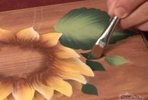 decorative painting video