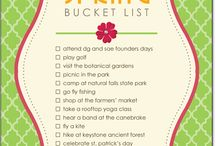 #Spring bucket list inspiration / Other peoples list and ideas for a spring bucket list