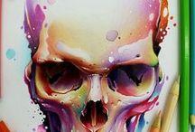 """""""G"""" skull"""
