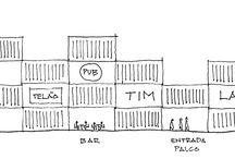 Architectural drawings n sketches / Only architects understand this shit