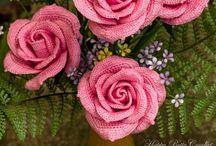 Crochet Flowers & Plants