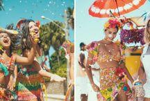 Carnaval - Fantasias e Maquiagem / Dicas e inspirações para você aproveitar a maratona da folia linda e cheia de estilo! #carnaval #carnival #party #summer