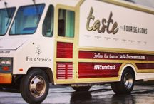 Four Seasons Taste Truck / Four Seasons has started a food truck that will roll into Santa Barbara September 30-October 6, 2013! Follow its journey: 3 states, 8 cities, 55 days!