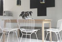 Metalic chairs