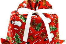 Christmas Wrapping / Creative, trash-free or recycled ideas for wrapping holiday gifts. / by VZWraps Fabric Gift Bags