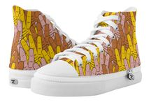 Art on Shoes / Graphic art on modern trendy shoes
