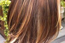 Aveda Hair Color Inspo - Highlights