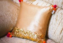 Handcrafted Cushions / At Nimisha Verma Store, we try our best to support the craftsmen and promote their art by implementing that in the contemporary form which makes it appealing today. I am hoping that my venture will serve the dual purpose of supporting the craftsmen who form the backbone of my initiative as well as providing beautiful handcrafted pieces for your home and the little rock stars of your life. Nimisha Verma – Linking Craftsmanship with Elegance. www.nimishaverma.com