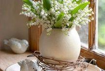 Arranjos Florais de Páscoa / Selecionamos ideia de lindos arranjos florais para celebrar a Páscoa em alto estilo. #primaveragarden #flores #gardencenter #arranjos #decoracao #pascoa