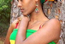 Red green yellow on black / JamAfrican