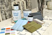 Annie Sloan Chalk Paint™ / Filmgo Sales is the exclusive stockist of Annie Sloan Chalk Paint™ in Vancouver! Annie Sloan is revolutionizing the way you paint by offering 30 European-inspired colours that cover almost any surface including, waxed and varnished pieces, clay and concrete pots, plastic, and formica furniture. No sanding, stripping or priming is required! Even your exterior doors, iron gates, and lamp posts can come to life with just one coat.
